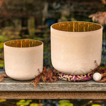 SInging Bowls - Light Stream™ 24K Gold Therapeutic Crystal Bowls Set