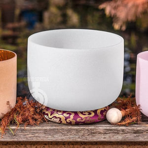 SInging Bowls - Light Stream™ Pure Crystal Bowls Set