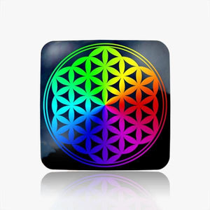 Flower of Life Water Restructuring Coaster