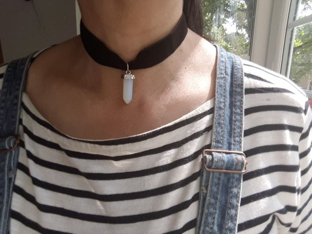 Choker With Point Pendant
