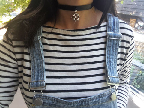 Ship Wheel Choker