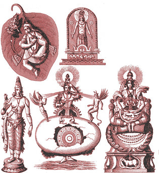 Hinduism and Budhism Gods