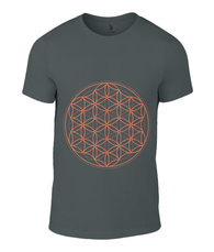 Anvil Fashion Basic T-Shirt Flower of Life