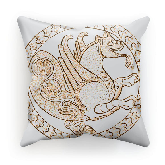 Senmurw,  a fabulous, mythical bird Cushion