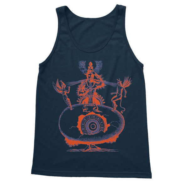 Hindu World Egg Shiva Softstyle Tank Top