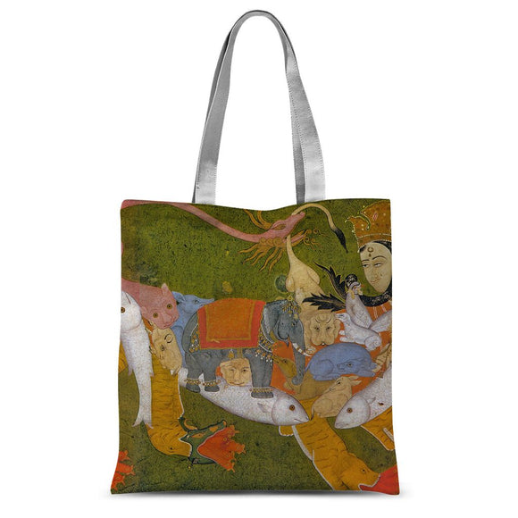 We are in 3 and go to 4 Sublimation Tote Bag