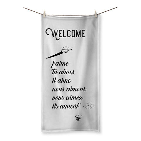 Welcome Beach Towel