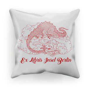 Dragon Exlibris Cushion Dragon