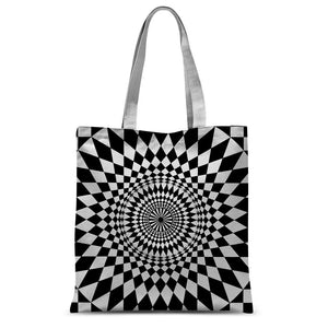 Geometry Design Sublimation Tote Bag