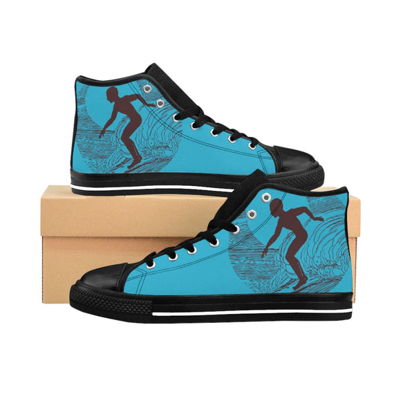 Surfer Beach High-top Sneakers