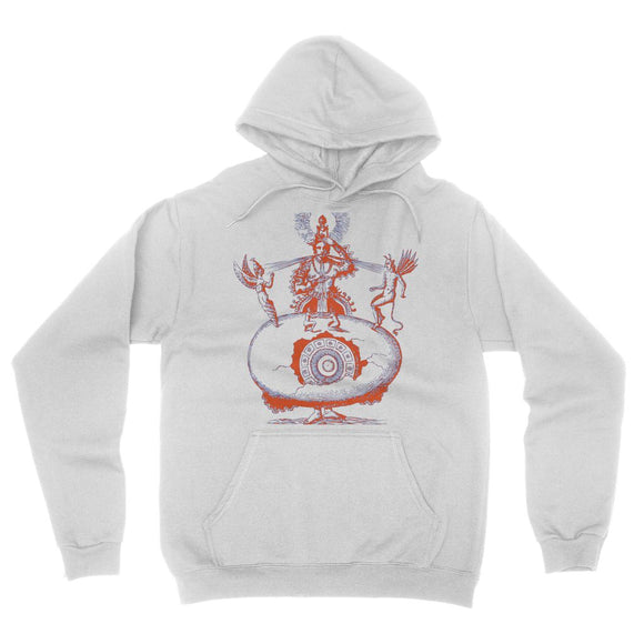 Hindu World Egg California Fleece Pullover Hoodie