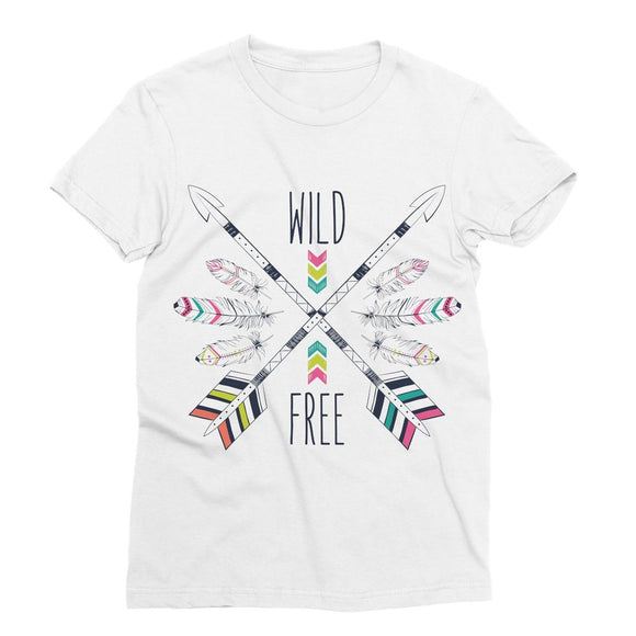Wild and Free Sublimation T-Shirt