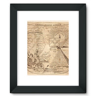 Antimasonic Apron Framed Fine Art Print
