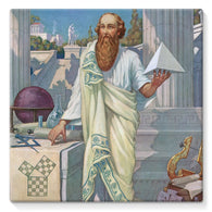Pythagoras Stretched Eco-Canvas
