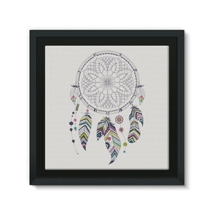 Dreamcatcher Framed Eco-Canvas