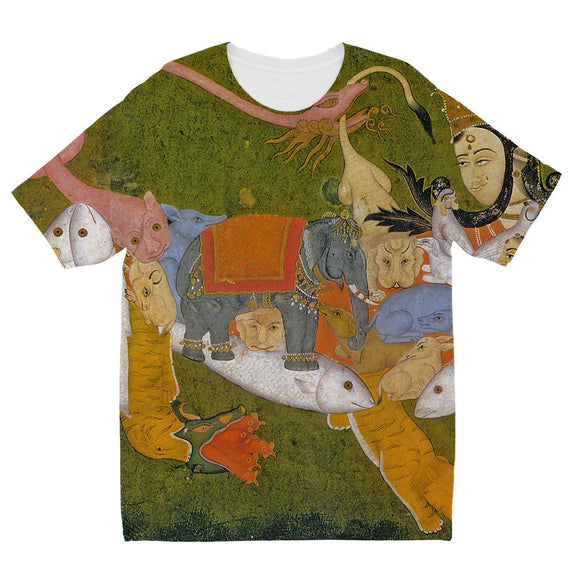 We are in 3 and go to 4 Kids' Sublimation T-Shirt