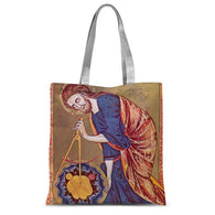 Geometry Compass Sublimation Tote Bag