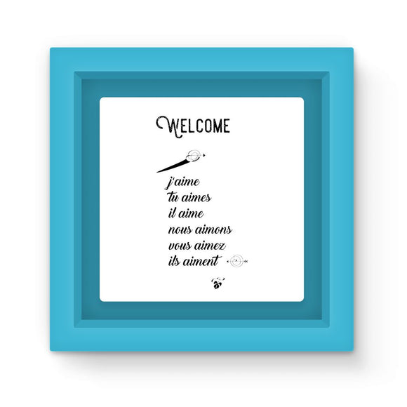 Welcome Magnet Frame