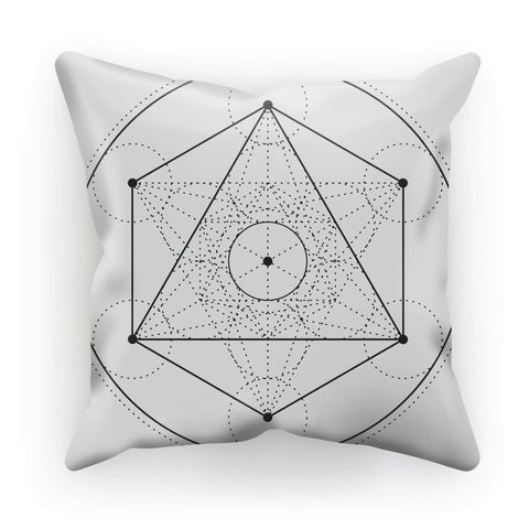 Metatrons Cube Cushion