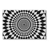 Geometry Design Stretched Eco-Canvas