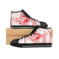 Men's High-top Sneakers Chinese Dragon
