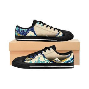 Great Wave Tribesymbols Women's Sneakers
