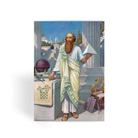 Pythagoras Greeting Card