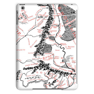 Hobbits Lord of the Ring Map Tablet Case