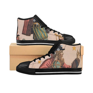 Men's High-top Sneakers Astrology