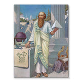 Pythagoras Stretched Canvas