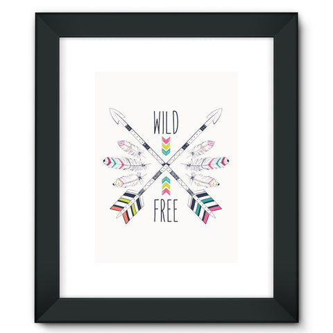 Wild and Free Framed Fine Art Print