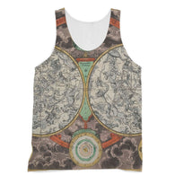 Planisphere Norimbergensis Astrology Map Sublimation Vest