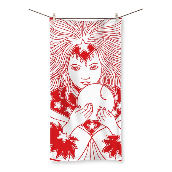 Magic Girl Beach Towel