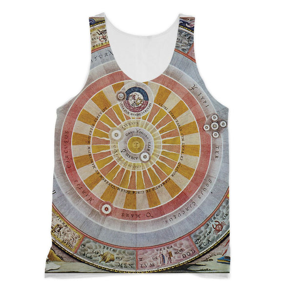 Planisphere Copernica Map Sublimation Vest