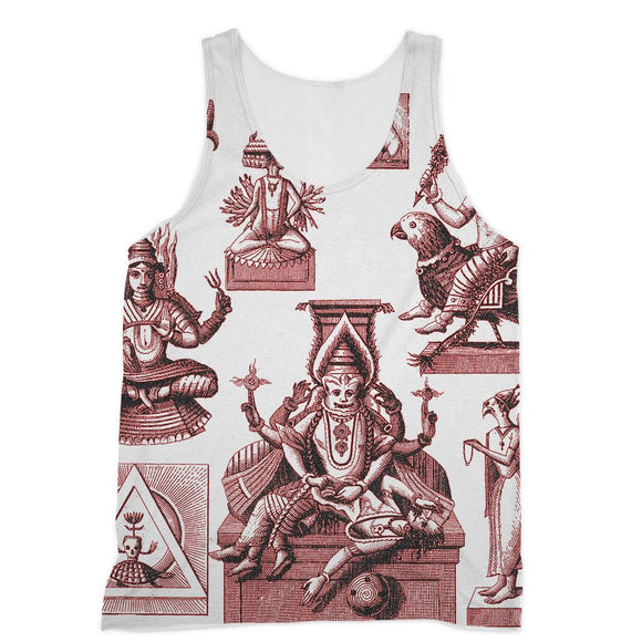 Budhism and Hinduism Gods Sublimation Vest