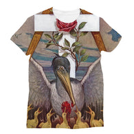 Rosicrucian Pelican Sublimation T-Shirt