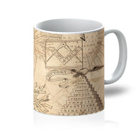 Antimasonic Apron Mug