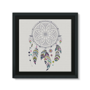 Dreamcatcher Framed Canvas