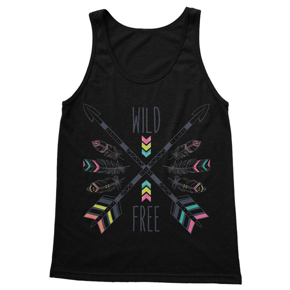 Wild and Free Softstyle Tank Top