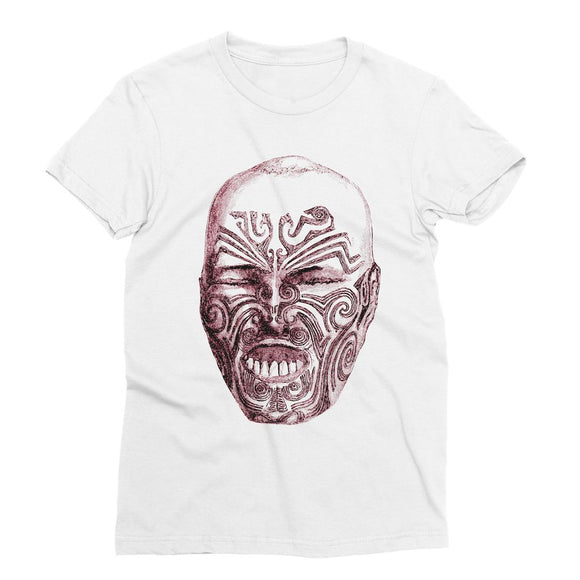 Tattoo Head New Zealand Sublimation T-Shirt