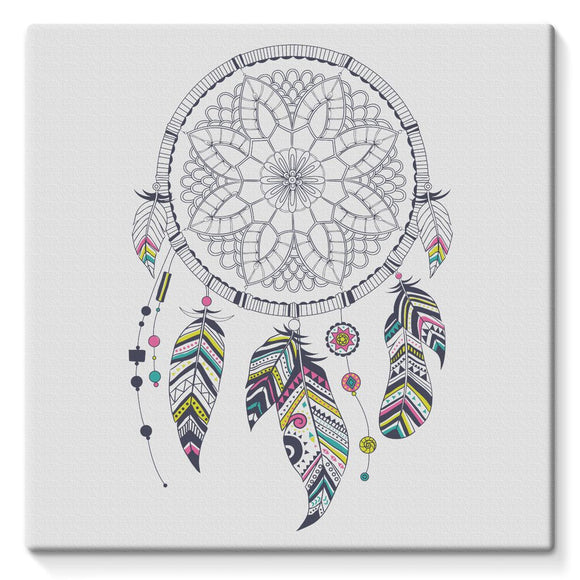 Dreamcatcher Stretched Canvas