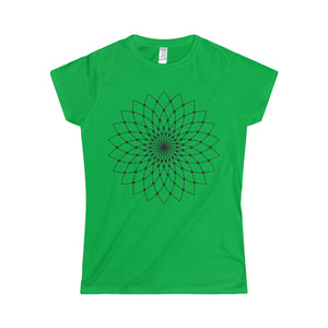 Softstyle Women's T-Shirt Lotus Flower