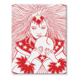 Magic Girl Stretched Eco-Canvas