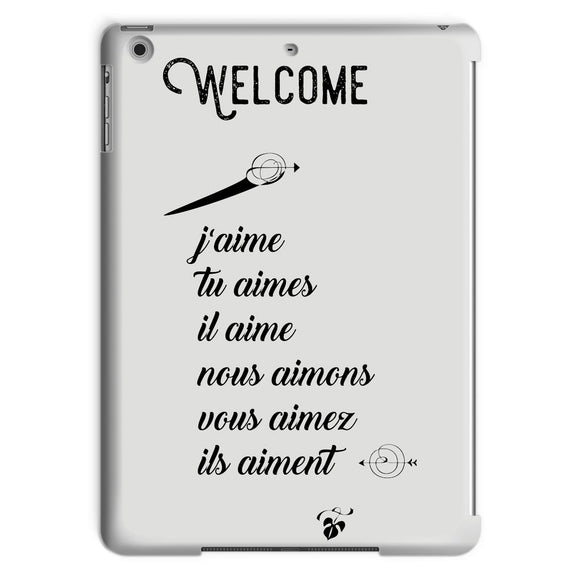 Welcome Tablet Case