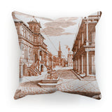 Architecture Old Europe City Cushion