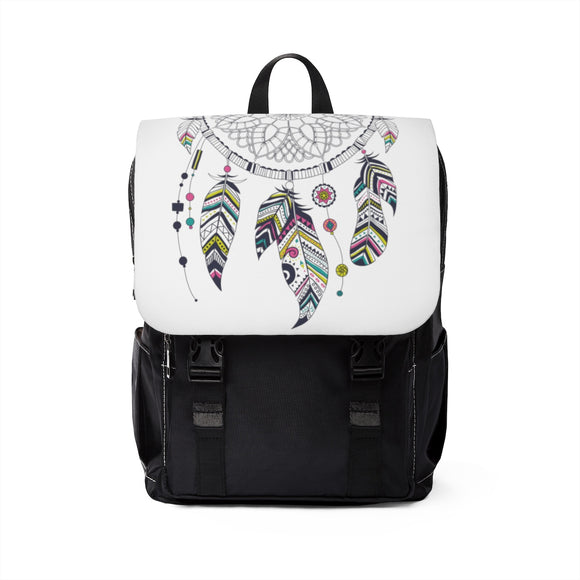 Dreamcatcher Unisex Casual Shoulder Backpack