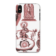 Hinduism and Budhism Gods Phone Case