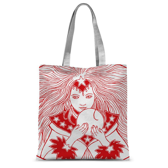Magic Girl Sublimation Tote Bag