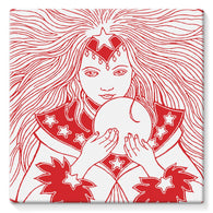 Magic Girl Stretched Canvas