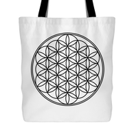 Tote Bag Flower of Live
